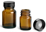 dark glass bottles for essential oil perfume